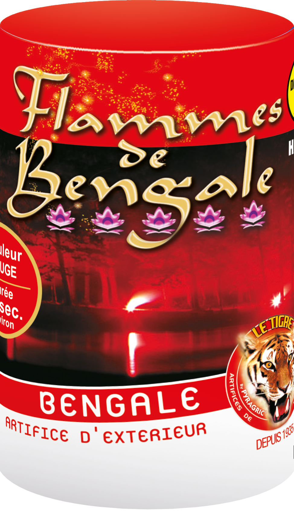 P152363-FLAMME BENGALE ROUGE