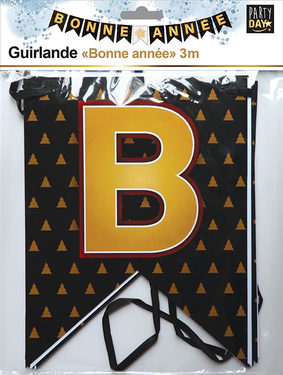 P166054-GUIRLANDE BONNE ANNÉE